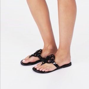 ef9297abb8fb2 ... jelly sandal. M 5adc7f0b85e6058745157959. Other Shoes you may like.  Authentic Tory Burch Miller black patent leather 9